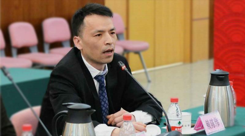 《华侨快报》赖陈伟总编辑在中华全国新闻工作者协会座谈会上